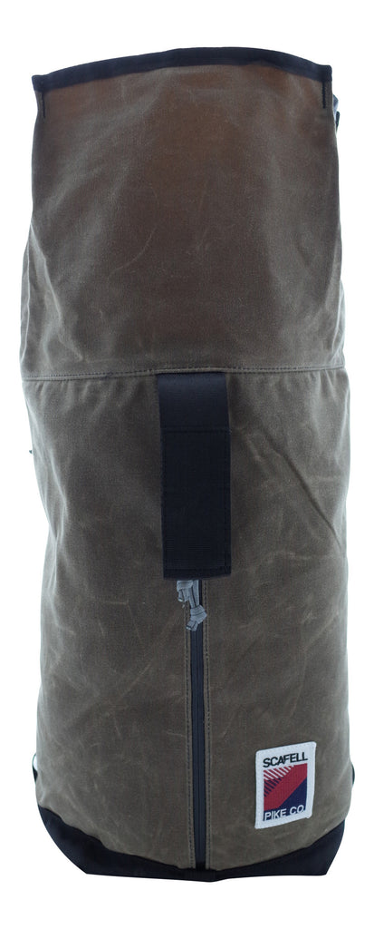 Handmade Waxed Canvas Bag Apex XL by Scafell Pike and Inside Line Equipment