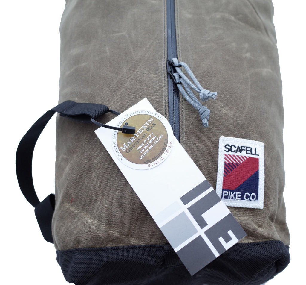 USA Made Day Sack by ILE and Scafell Pike Co.