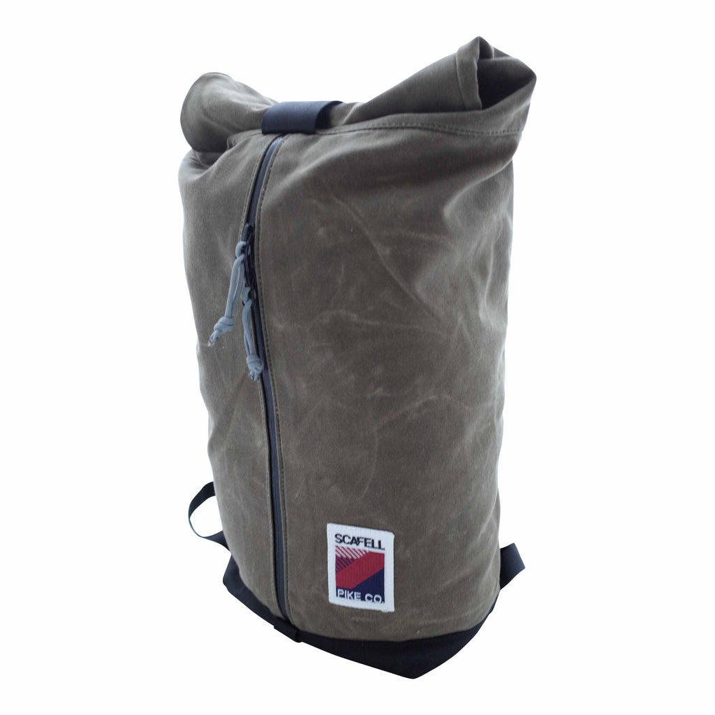 Scafell Pike Co. Apex XL by Inside Line Equipment Waxed Canvas Backpack Daysack