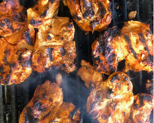 Chargrilled Chicken Thighs