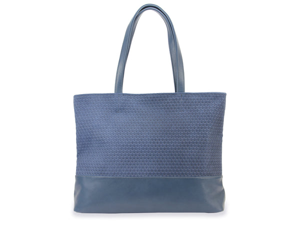 Shopper Svantje blue - Leder