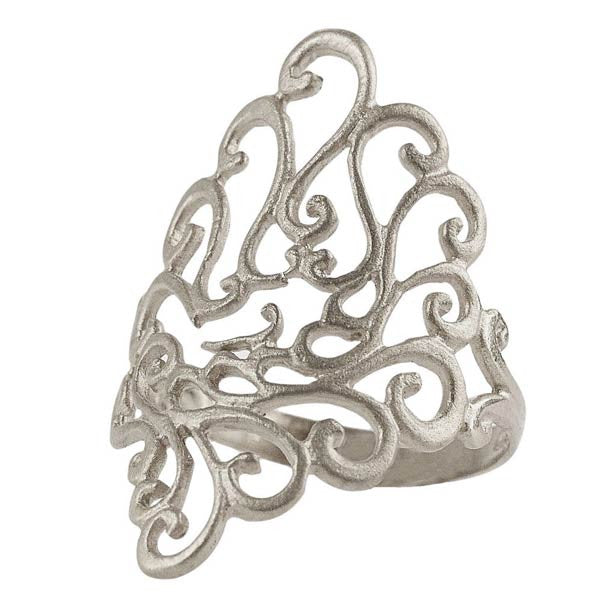 Ring Secret-Garden - Sterlingsilber