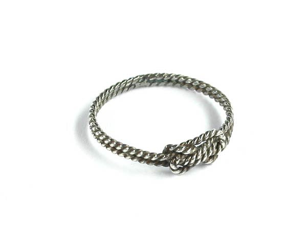 Ring Knoten - Sterlingsilber