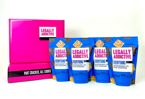 Everything Cookies - Party Pack of 4! - Legally Addictive