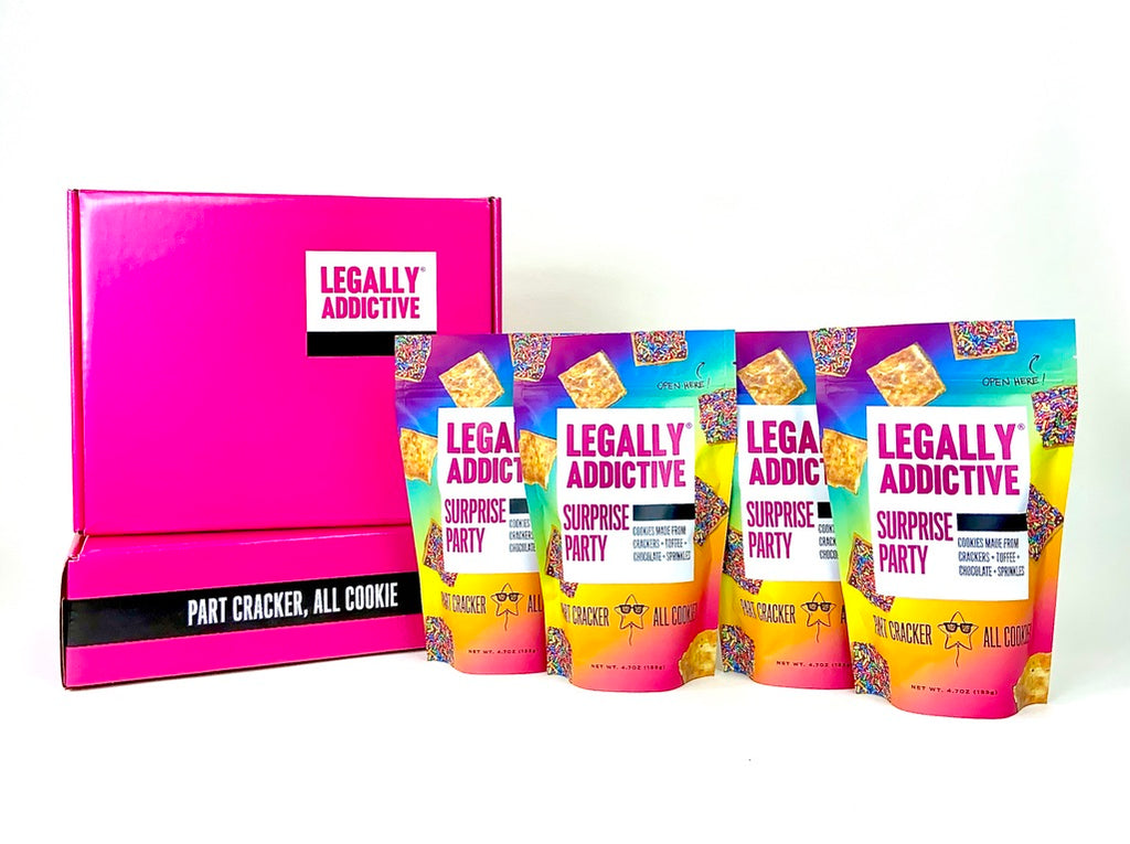 SURPRISE PARTY: Party Pack of 4! - Legally Addictive