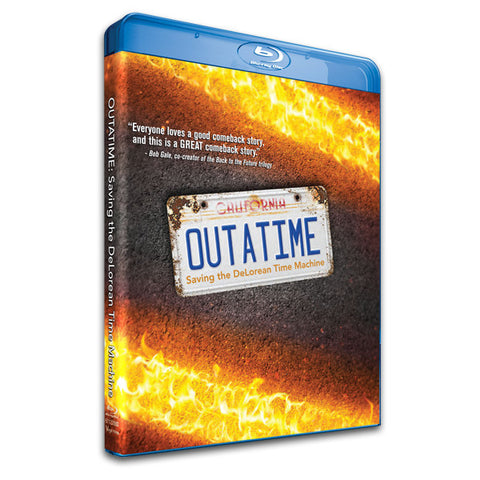 OUTATIME BLU-RAY with BONUS CONTENT