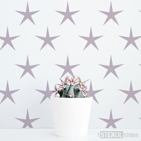 Star Power Pattern Stencil