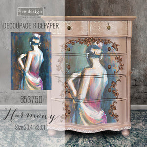 Harmony - Decoupage Tissue Paper A1