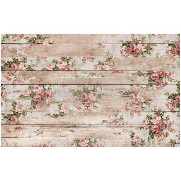 Shabby Floral - Decoupage Tissue Paper