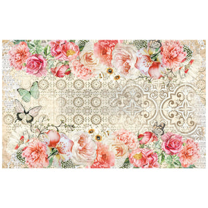 Living Coral - Decoupage Tissue Paper