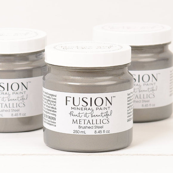 Fusion Metallics- Brushed steel