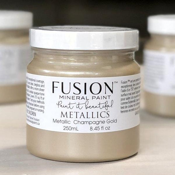 Fusion Metallics- Champagne Gold
