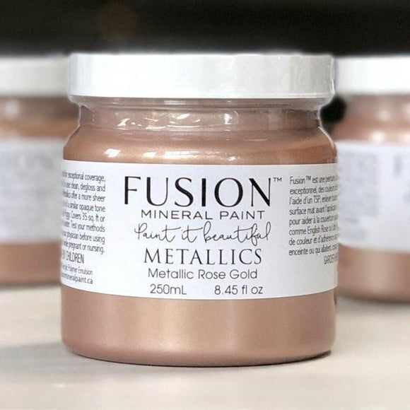 Fusion Metallics- Rose Gold