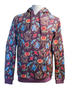 Sublimation Eastern Print Hoodie - Super Massive Shop