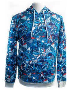 Sublimation Calamity Print Hoodie - Super Massive Shop