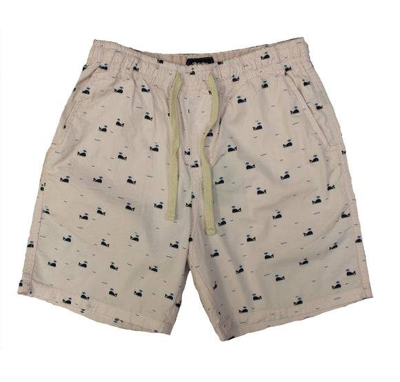 Whale Stretch Twill Shorts - Super Massive Shop