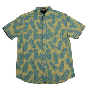 Pineapple SS Button-down - Super Massive Shop