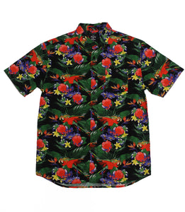 Floral SS Button-down - Super Massive Shop