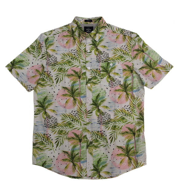 Island Sunset SS Button-down - Super Massive Shop