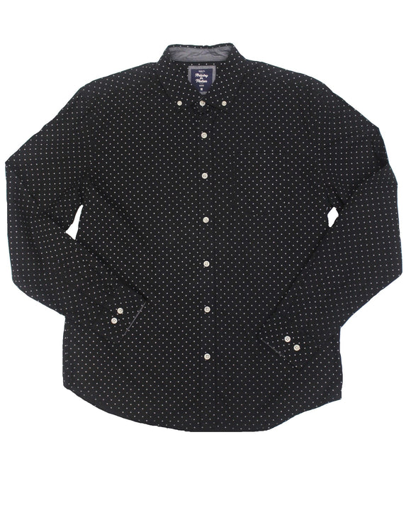 Interstellar Poplin Button-down
