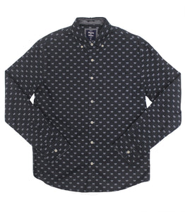 Axed Poplin Button-down - Super Massive Shop