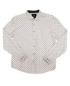 Skull Poplin Button-down - Super Massive Shop