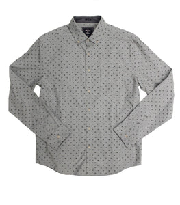 Dino Poplin Button-down