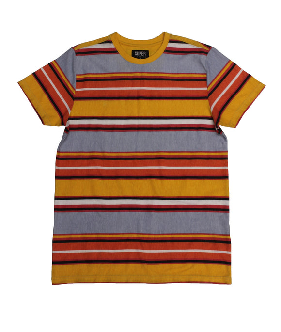 Ballad SideStripe Collar Tee - Super Massive Shop