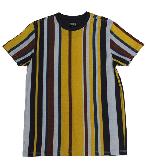 Ice Flow SideStripe Collar Tee - Super Massive Shop