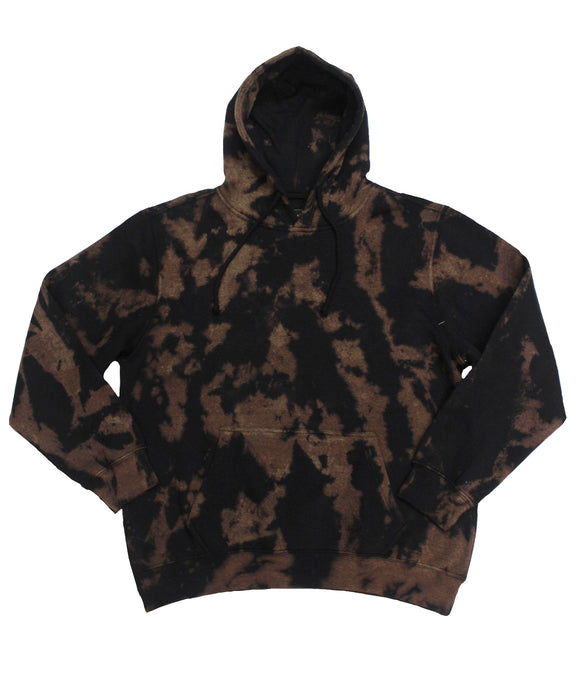 Rorschach Bleach Dye Hoodie - Super Massive Shop