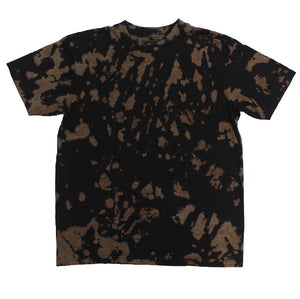 Rorschach Bleach Dye Tee - Super Massive Shop