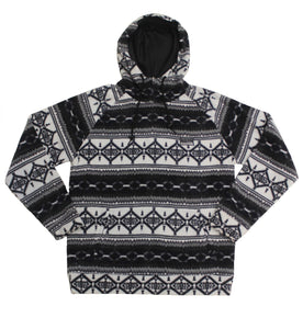 Flake Polar Fleece Hoodie - Super Massive Shop