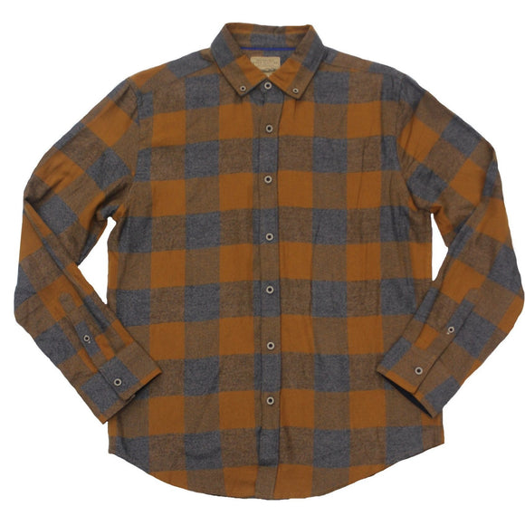 Dusted Flannel Button-down - Super Massive Shop