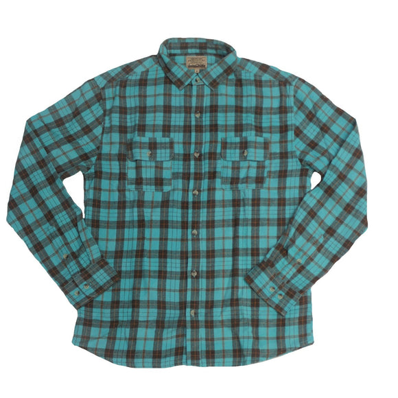 Arctic Flannel Button-down - Super Massive Shop