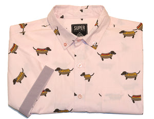 Ballpark Dog SS Button-down - Super Massive Shop