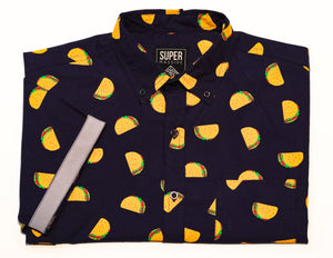 Taco Tuesday SS Button-down - Super Massive Shop