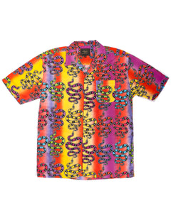 Rainbow Serpent SS Button-down - Super Massive Shop