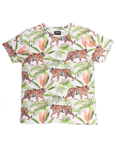 Jungle Tiger SS Print Tee - Super Massive Shop