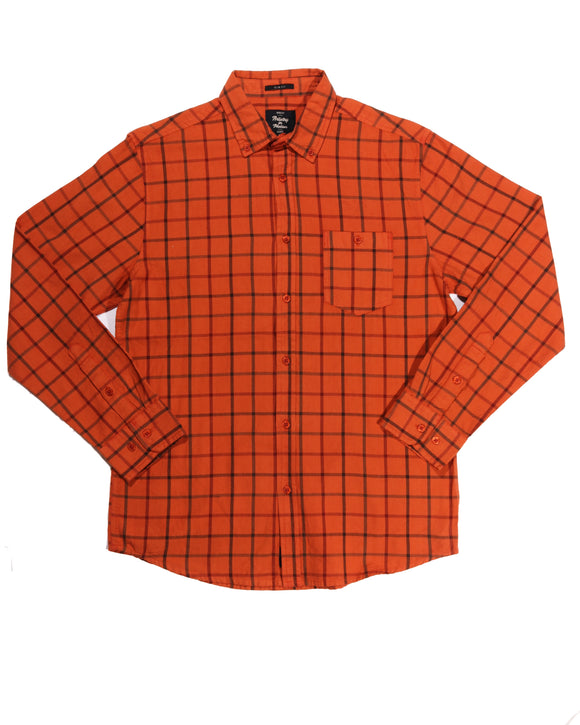 Clay Oxford Button-down - Super Massive Shop