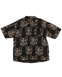 Stoned Kitty SS Button-down - Super Massive Shop