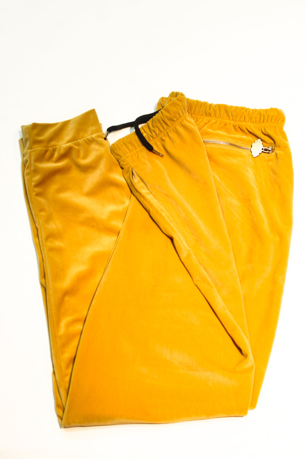 YAEZ Gold Coast Velour Pants - Super Massive Shop