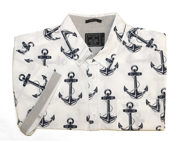 Sunken Anchor SS Button-down - Super Massive Shop