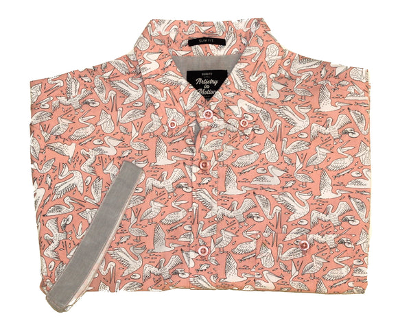 Florida Keys SS Button-down - Super Massive Shop