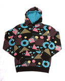 Retro Print Hoodie - Super Massive Shop