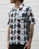 Corporate Shark SS Button-down - Super Massive Shop