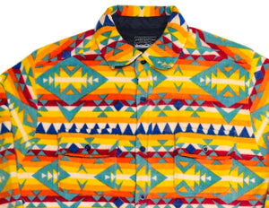 Caribou Polar Fleece Button-down - Super Massive Shop