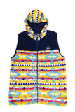 Caribou Polar Fleece Hoodie Vest - Super Massive Shop