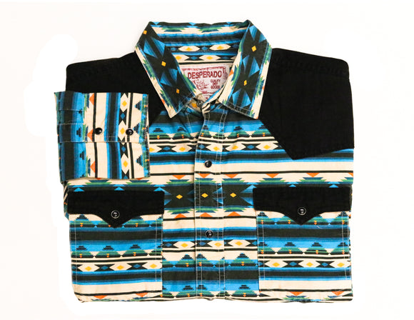 Rustler Western Button-down - Super Massive Shop