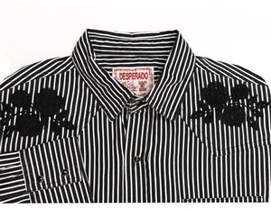 Crooked Saloon Western Button-down - Super Massive Shop