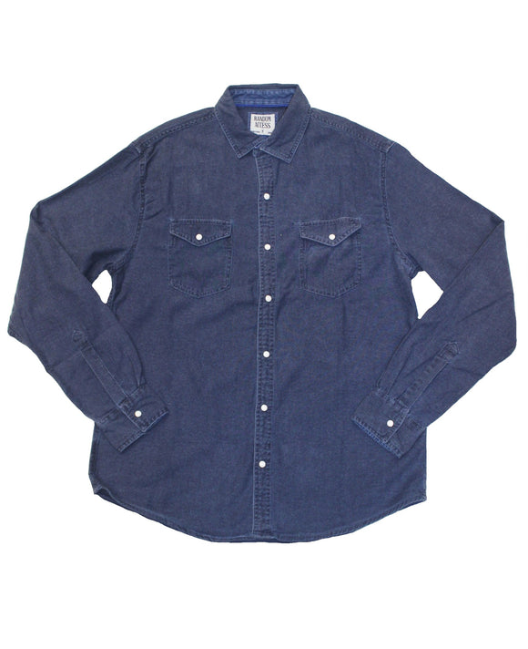 Storm Denim Button-down - Super Massive Shop